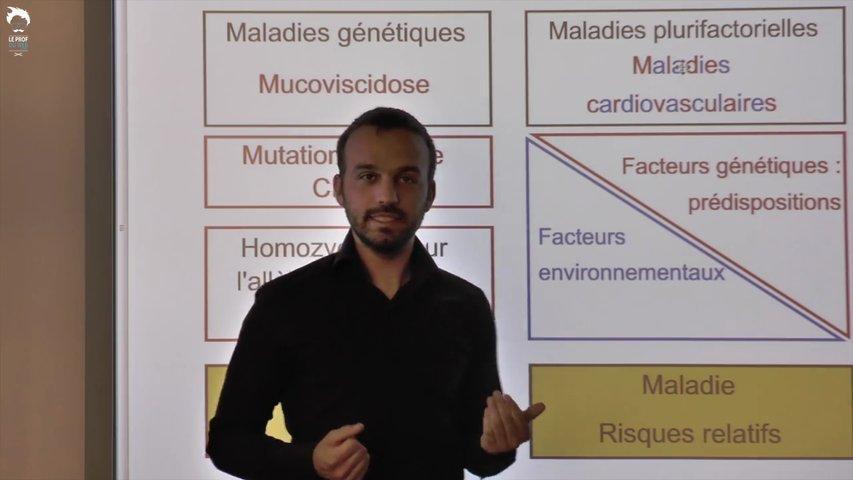 Maladies plurifactorielles et maladies génétiques
