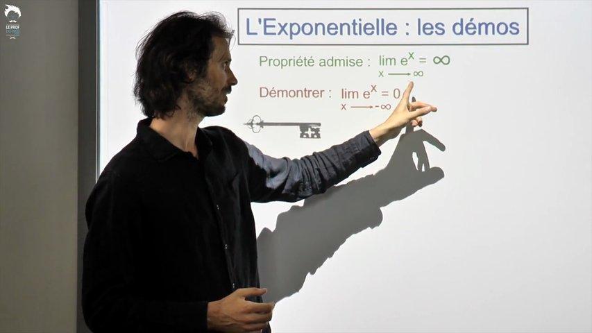 Limites de l'exponentielle : Trois démonstrations