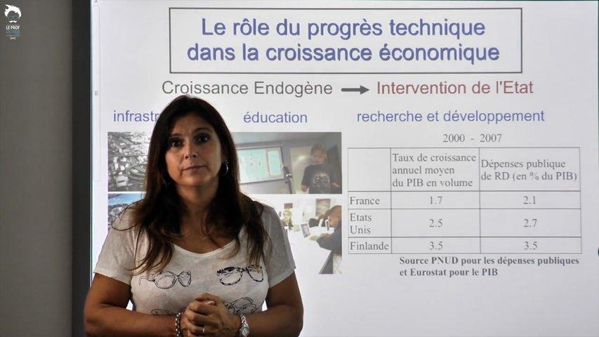 Progrès technique et croissance économique