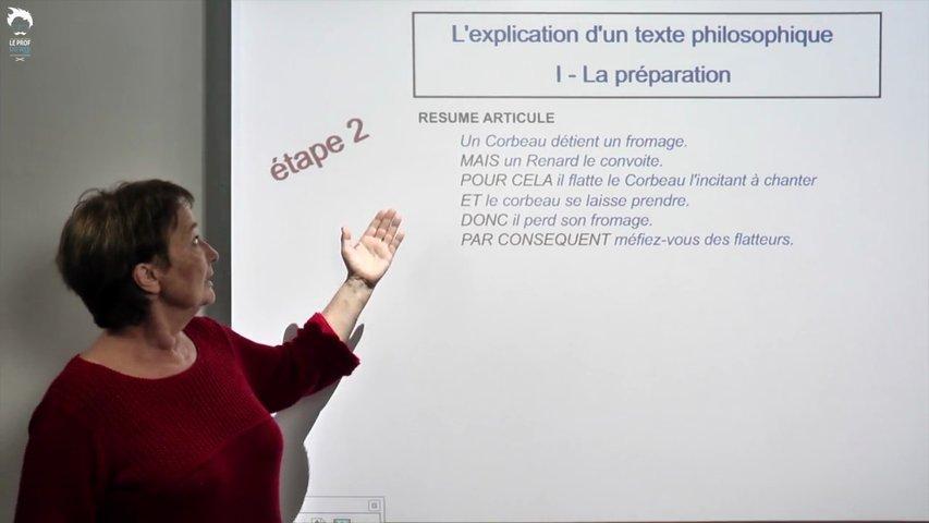 Comment bien préparer une explication de texte philosophique ?