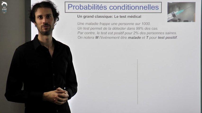 Probabilités Conditionnelles : le test médical