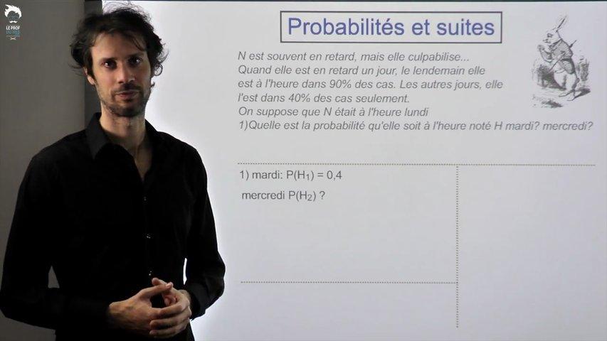 Probabilités et Suites : Problème