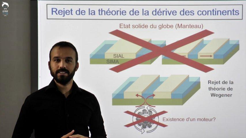 Etudes sismiques : rejet de la théorie et connaissance du manteau
