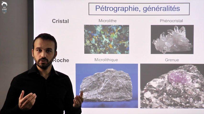 La pétrographie de la lithosphère