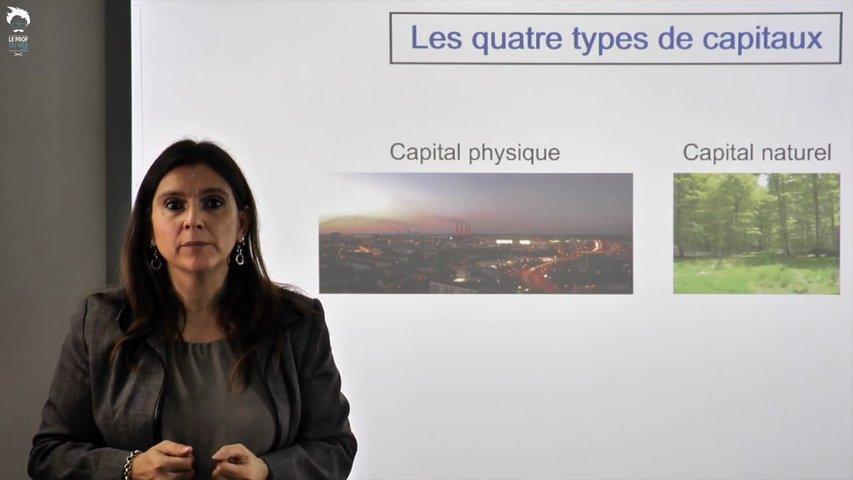 Les quatre types de capitaux