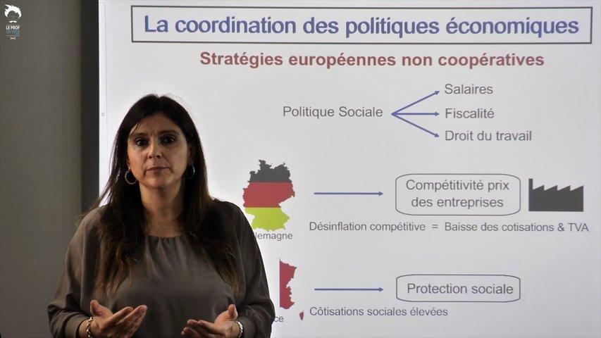 La coordination des politiques économiques