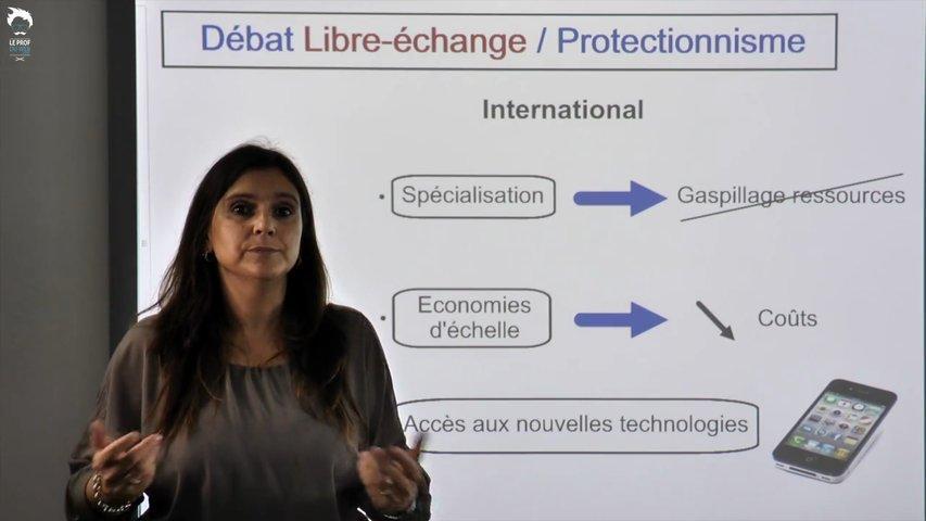Débat libre-échange / Protectionnisme 1/2