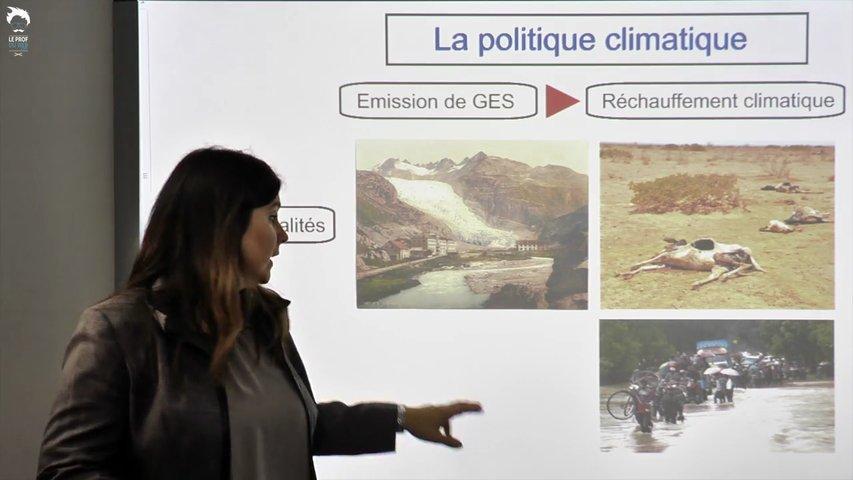 La politique climatique