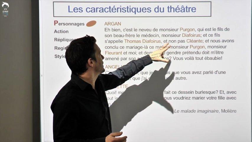 Les personnages au théâtre