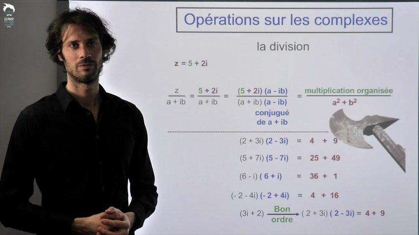 Complexes : calculer efficacement 2/2