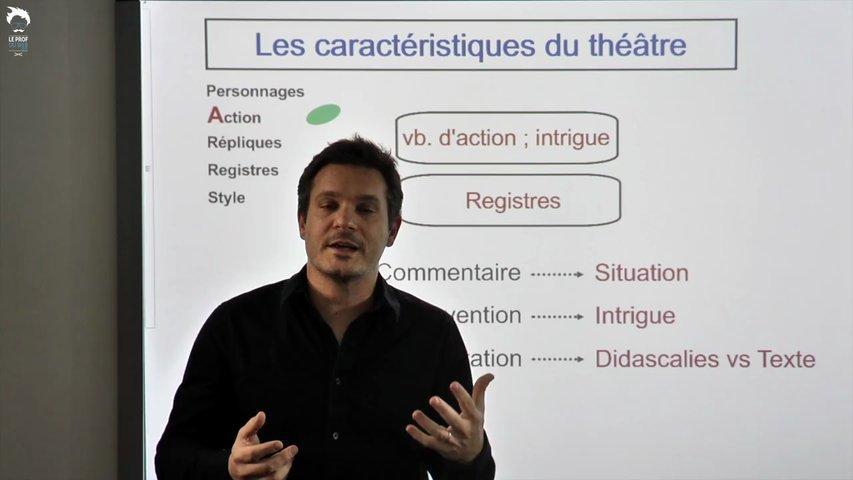 L'action au théâtre