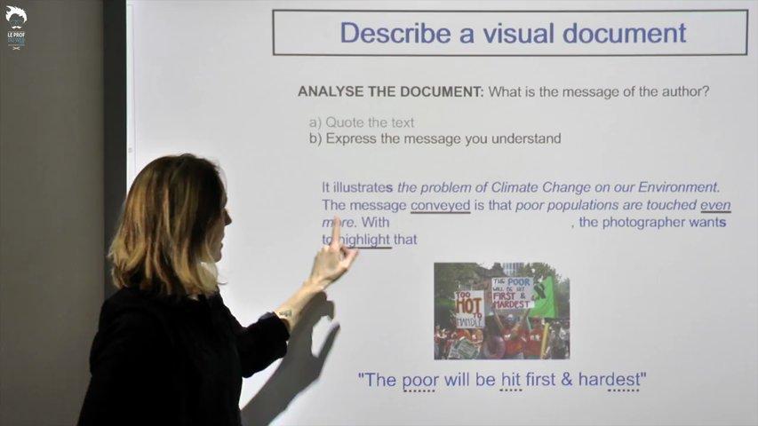 Troisième étape : le message du document