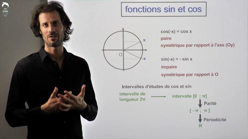 Les fonctions sinus et cosinus
