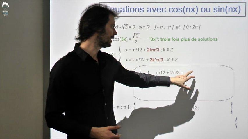 Les équations avec cos(nx) ou sin(nx) 2/2