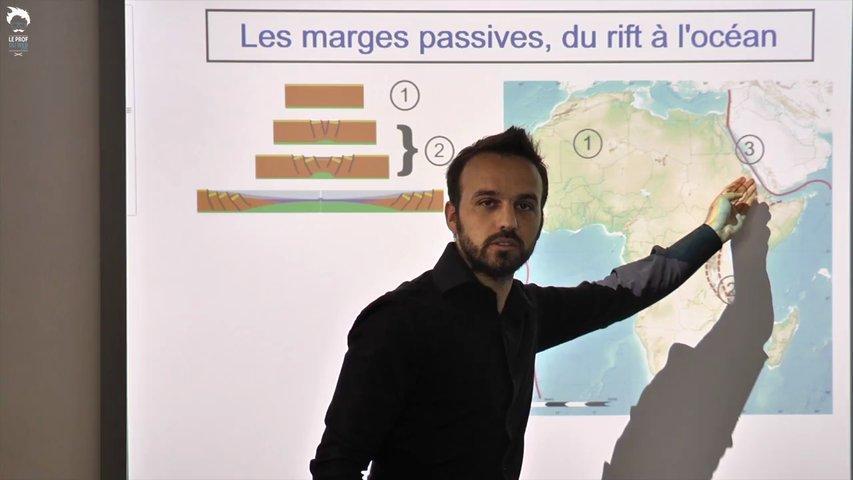 Les marges passives : dépôt et conservation de la matière organique