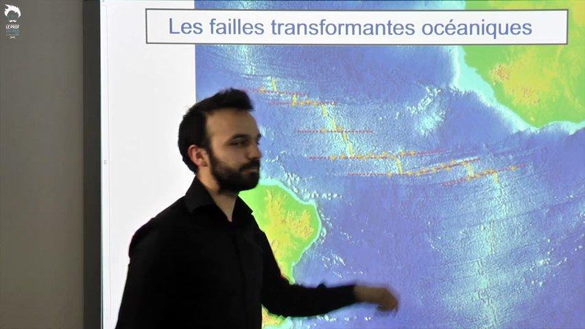 Le premier modèle de la tectonique des plaques