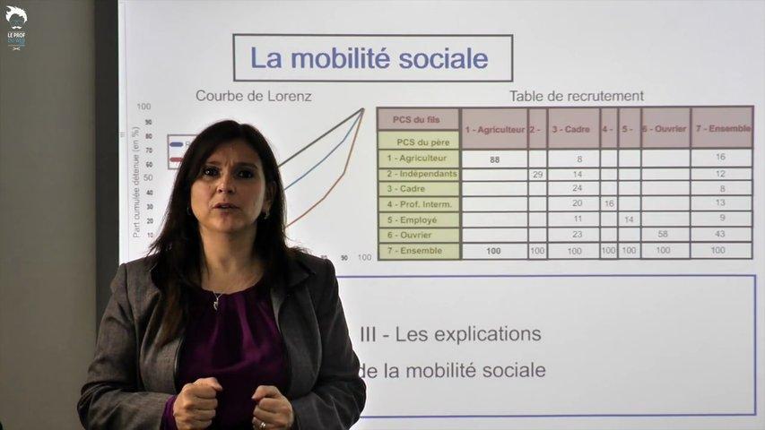 Mobilité sociale et inégalités