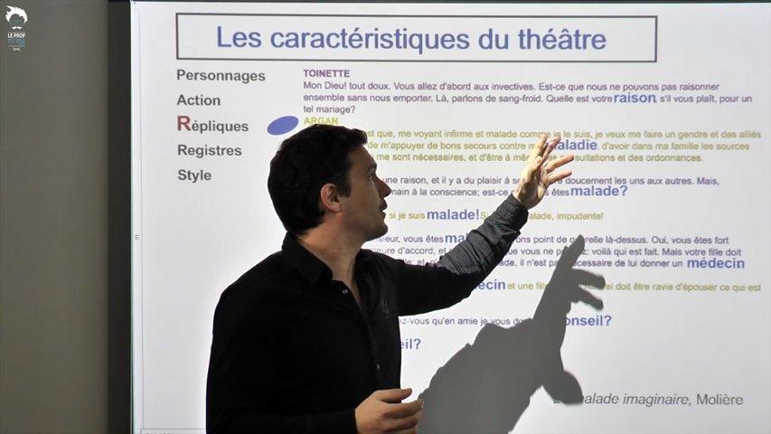 Analyser les répliques au théâtre