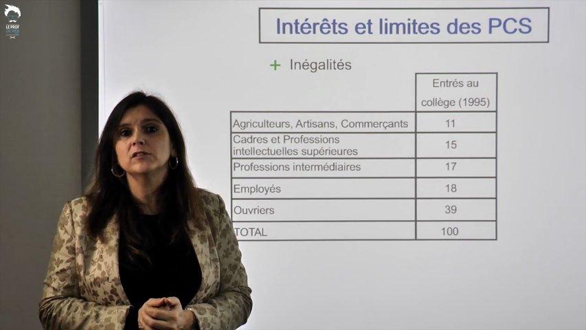 Intérêts et limites des Catégories socio-professionnelles
