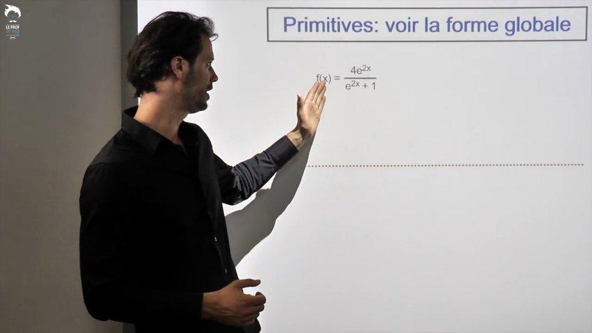 Primitive : voir la forme globale