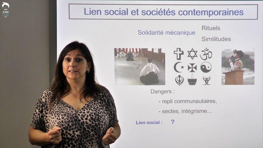 Lien social et sociétés contemporaines