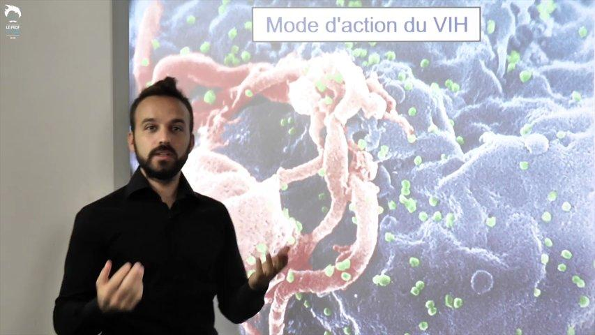 Elimination de l'antigène et mode d'action du VIH