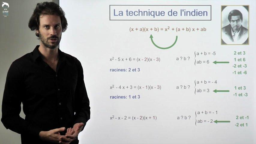 La technique de l'indien