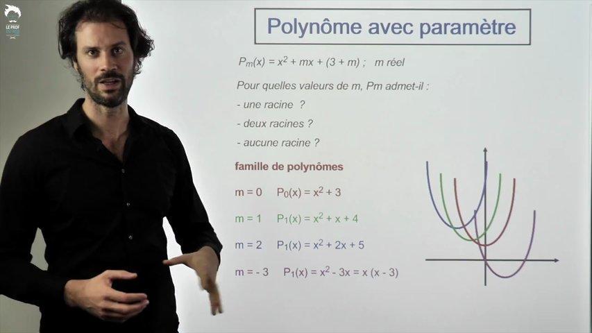 Polynôme avec paramètre