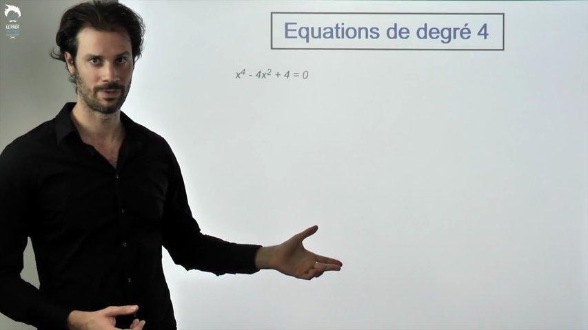 Équation de degré 4