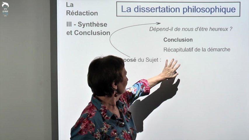 Dissertation : synthèse et conclusion