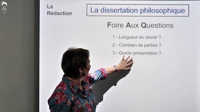 Dissertation : Foire aux questions