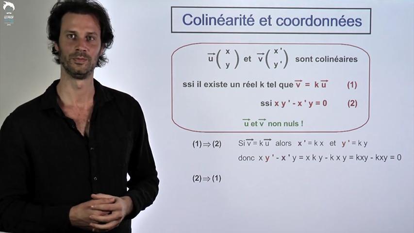 Test de colinéarité