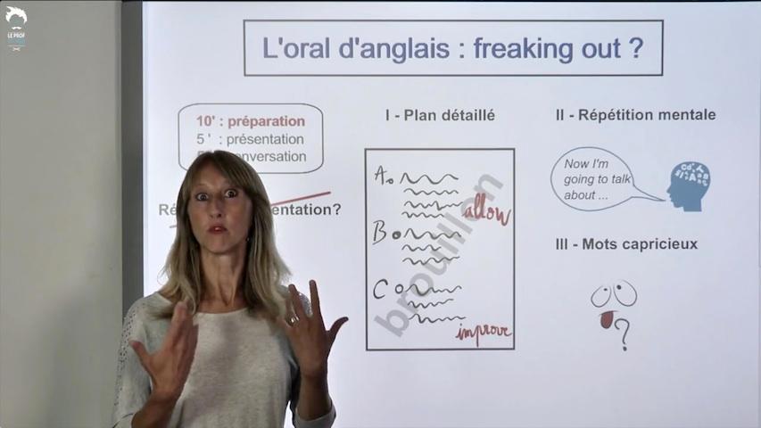 Se préparer pour l'oral d'anglais sans stresser : les clés