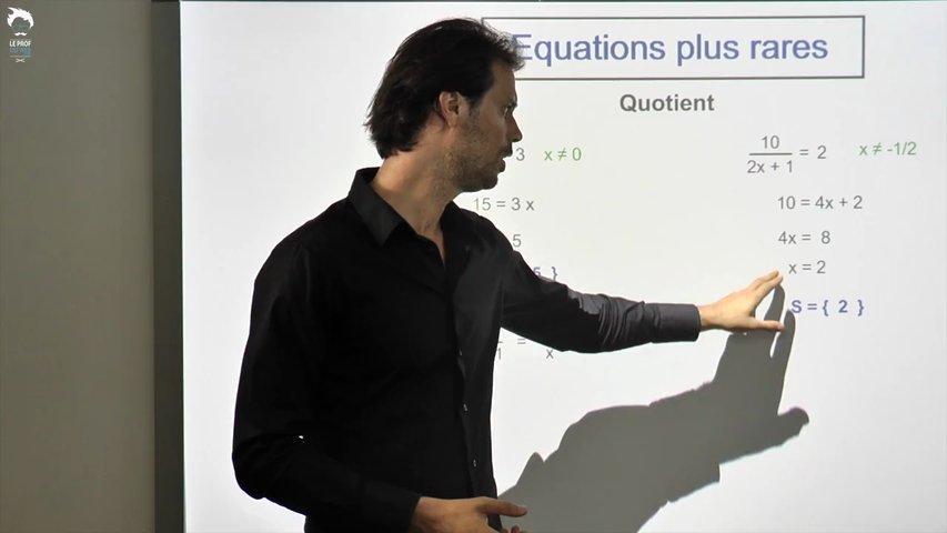 Equations plus rares 2/2
