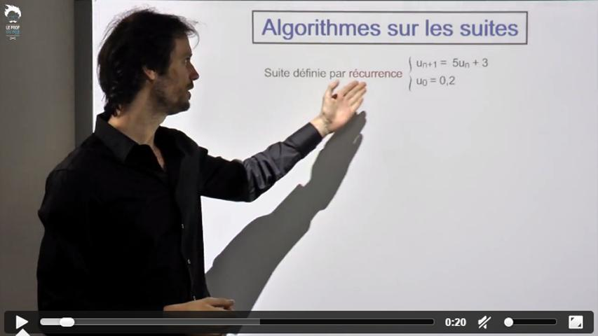 TI - Algorithmes sur les suites
