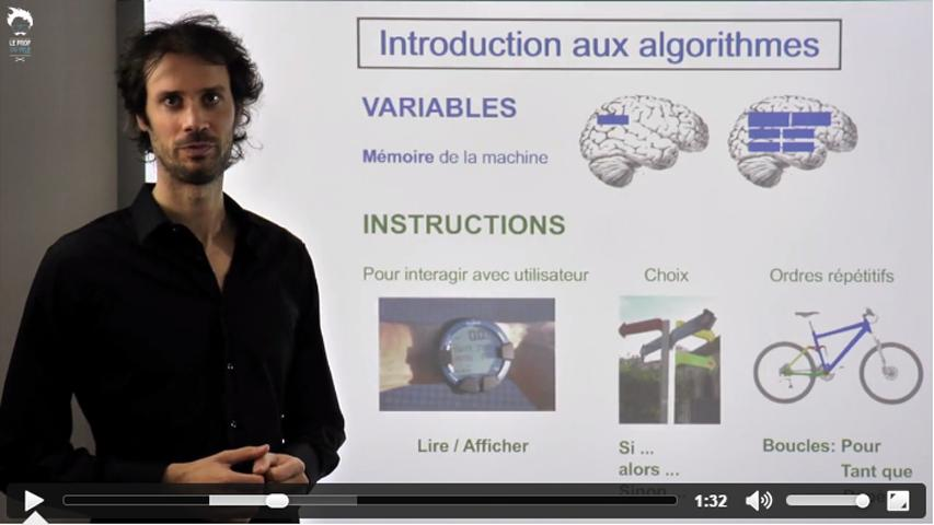 TI - Le point sur les algorithmes