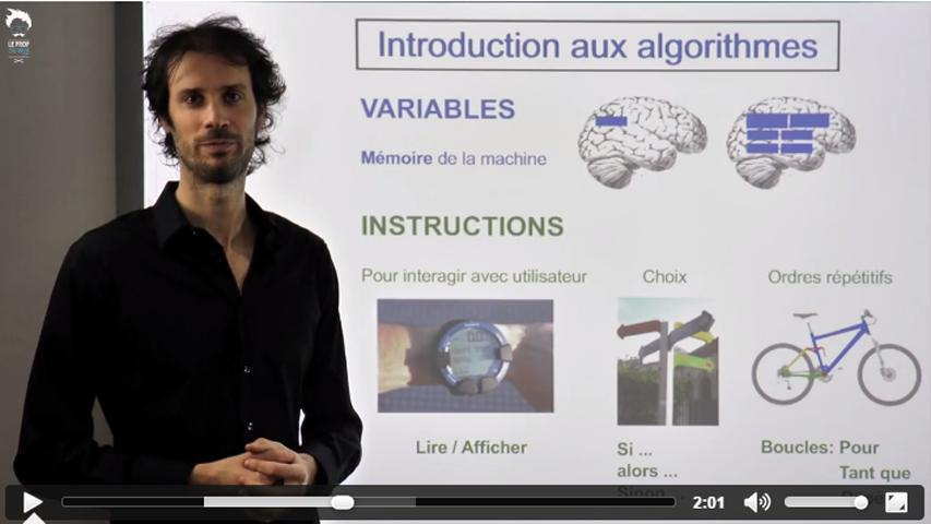 Casio - Les algorithmes : Introduction