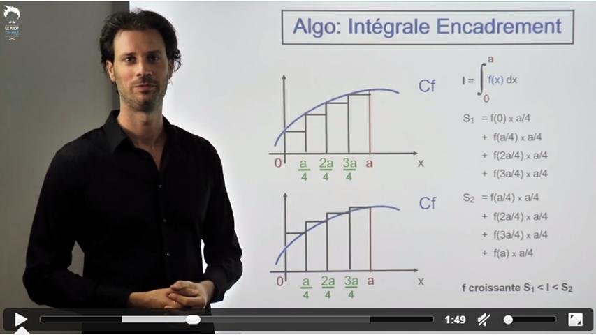 Casio - Algorithme pour une integrale