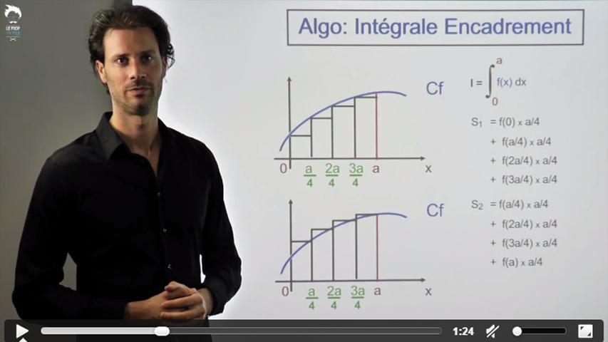 TI-Nspire - Algorithme pour une integrale