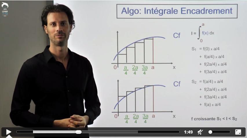 TI - Algorithme pour une intégrale