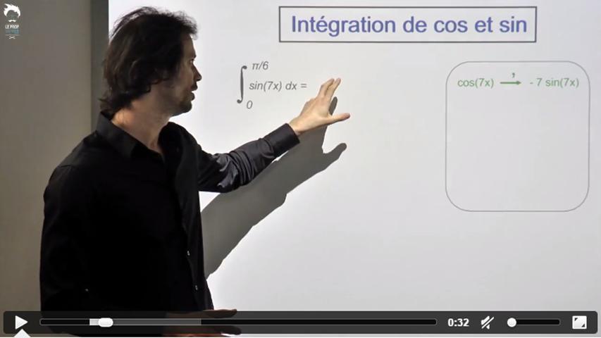 Intégration de fonctions contenant des sin et cos