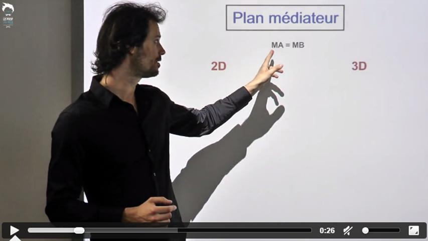 Le plan médiateur