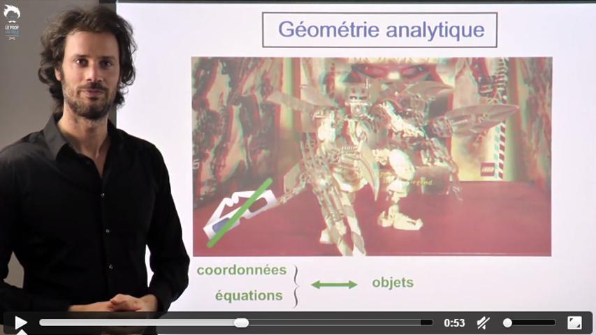 Géométrie dans l'espace : introduction