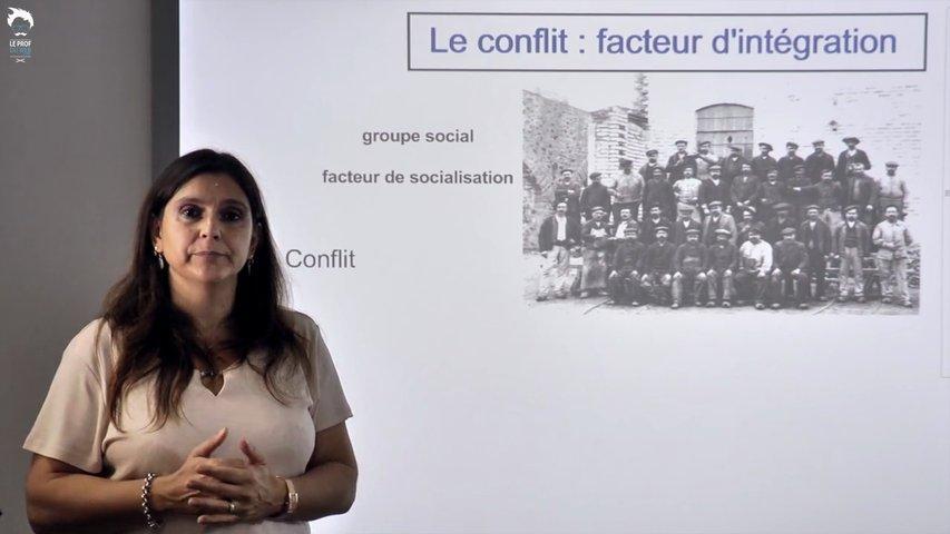 Le conflit: facteur d'intégration