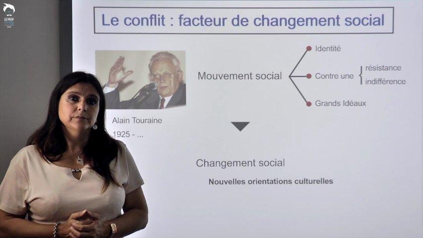 Le conflit: facteur de changement social