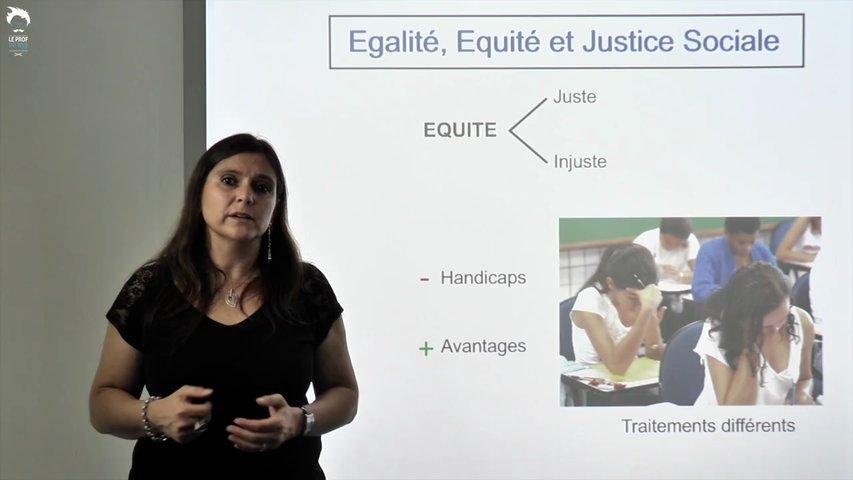 Egalité, Equité et Justice Sociale