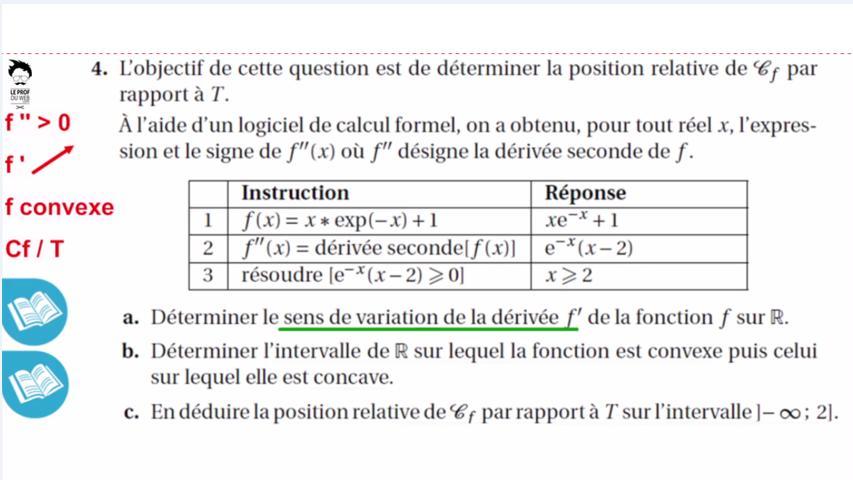 Etude de fonction exponentielle avec intégrales
