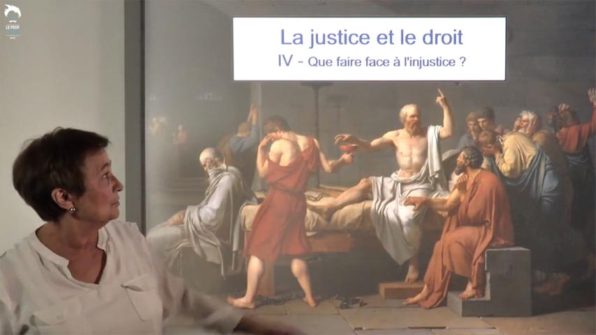 Que faire face à l'injustice ?