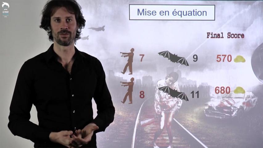 Mise en équation