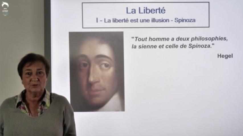 La liberté est une illusion - Spinoza